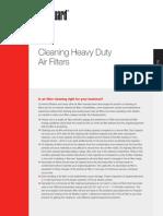 Clean Heavy Duty Filter