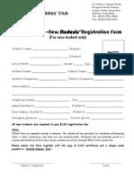 Anfield Toddlerobics Calendar Programme New Registration Form LV