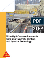 Concrete With Sika