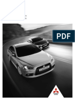 Mitsubishi Lancer Preis-datenblatt