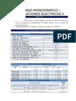 Trabajo Instalaciones Electricas II