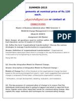 MU0018–Change Management