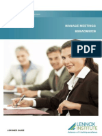 BSBADM502B Manage Meetings_LR