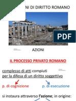 7- Azioni diritto romano