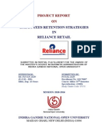 1-Employees Retention Strategies in Reliance Retail Ltd Thesis 85p