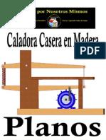 Plano Sierra Caladora Casera Para Madera T A4