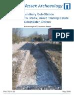 Poundbury Sub-Station, Land at Miller's Cross, Grove Trading Estate, Dorchester, Dorset
