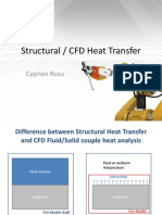 Difference Between Structural Heat and CFD Heat