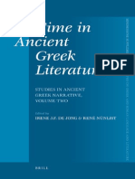 137146743 BRILL STUDIES Time Ancient Greek Literature