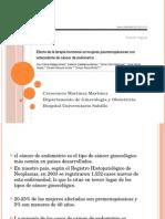 Articulo  cancer endometrial