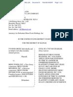 Ortiz v. Menu Foods, Inc. et al - Document No. 6