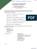 Timebase Pty Ltd v. Thomson Corporation, The - Document No. 39