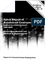 Technical Report 38-Patch Repair of Reinforced Concrete