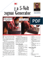 Building a 5v Signal Generator