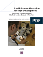 Lateglacial to Holocene Alluviation and Landscape Development