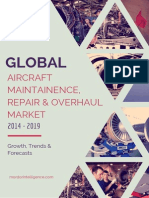 Global Aircraft Maintenance Repair and Overhaul Market Growth Trends and Forecasts 2014 – 2019