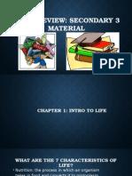 IGCSE Review Sec 3 Material