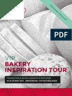 Bakery Inspiration Tour 2015 Program Booklet