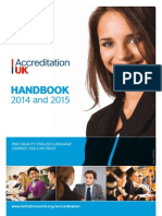 Accreditation UK Handbook (2014-15)