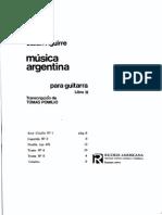 Musica Argentina  -Aguirre Pomilio-