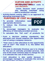Chap. 6 Cost Allocation and Activity-Based Costing