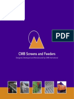 CMB Screen Brochure