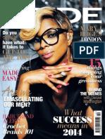 Mary J. Blige. Pride Magazine. October 2014