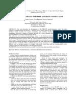 Design of the Granit Parallel Kinematic Manipulator