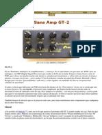 Sans Amp GT