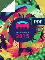 IndieArena Booklet Gamescom 2015