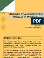 Presentación Pataz - Geometalurgia
