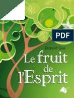 Le fruit de l'Esprit - Donald Gee