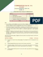 cbse class ix syllabus 2015-16