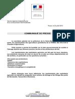 communique de la prefecture de Seine-Maritime sur la levée des blocus des ponts