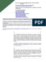 Instrução Normativa Inss_dc Nº 99 - De 5 de Dezembro de 2003 – Dou de 10-12-2003