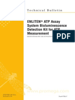 Enliten Atp Assay System Bioluminescence Detection Kit for Atp Protocl