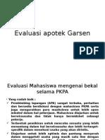 Evaluasi Apotek Garsen CUPI