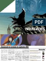 Novedades de ECC Ediciones para septiembre de 2015