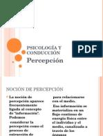 Psicología y Conducción-percepcion