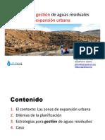 Estrategias Tratamiento en Zonas Expnasión Urbana