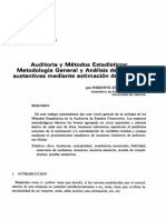 Auditoria y Estadistica