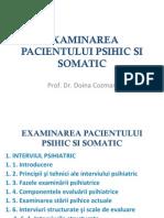 Curs 2 Examenul Psihic