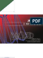 Kicker KX550.3 Amplificador de potencia para audio automotriz. Manual de Usuario  (en Inglés)
