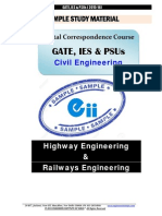 Gate Ies Postal Studymaterial for Highways Railways Engg Civil.unlocked