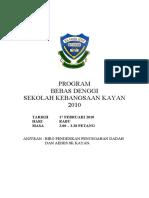 Kertas Kerja Program Bebas Denggi