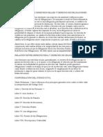 Diferencias Entre Derechos Reales y Derecho de Obligaciones