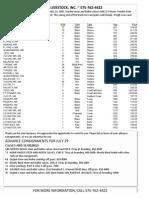 CLA Cattle Market Report July 22, 2015
