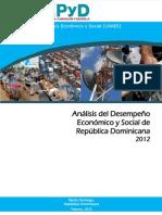 Análisis del Desempeño Económico y Social de República Dominicana 2012