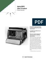 Overview Agilent 8591C (5964-0244E)