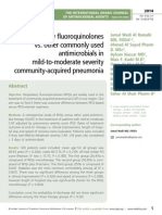 Respiratory floroquinolones vs. other commonly used antimicrobials in mild-to-moderate severity community-acquired pneumonia